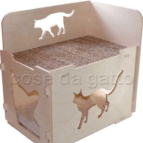 Habicat® Scrigno Ecologicat + cuscino interno